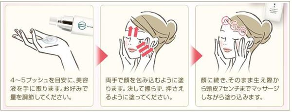 ハダギワ美容液の効果的な使い方