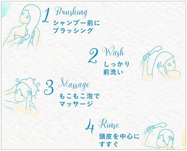 haruシャンプー「黒髪スカルプ・プロ」の効果的な使い方