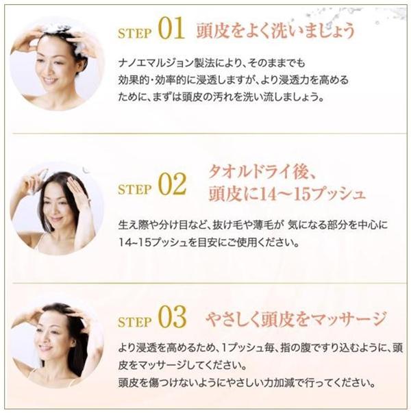 女性用育毛剤「長春毛精」の効果的な使い方
